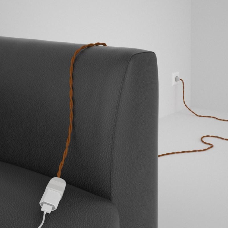 Ceramic lamp holder kit 100% Made in Italy - ENAMEL AMBER