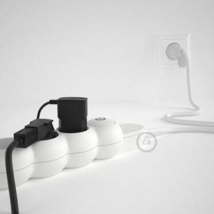 Magnetico®-Plug Chrome, ready-to-use magnetic lamp holder