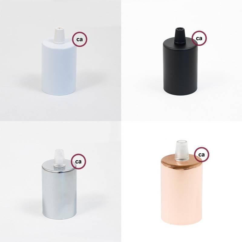 Multi-holes ceramic rose kit 100% Made in Italy - ORANGE ENAMEL